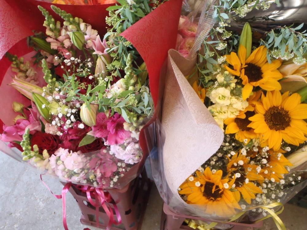 予算とイメージに合わせて花束をお作りします