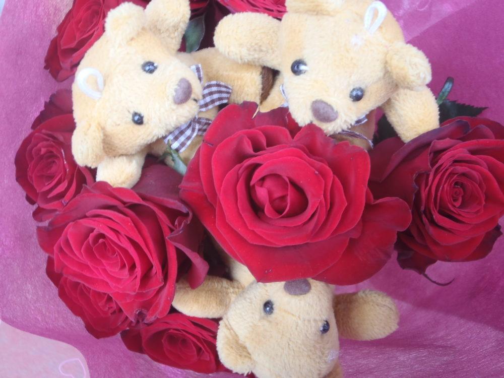 クマの花束